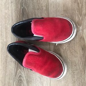 Vans shoe toddler size 9